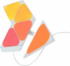 Nanoleaf Shapes - Mini Triangles Smarter Kit (5pk) - Multicolor
