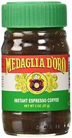 Medaglia D'oro Instant Espresso Coffee, 2-ounce Jars (pack Of 6), New, Free Ship on sale
