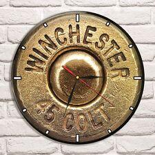 Reloj De Pared Winchester 45 Color Vinyl Record De Diseño Hogar Tienda Oficina Coleccionista