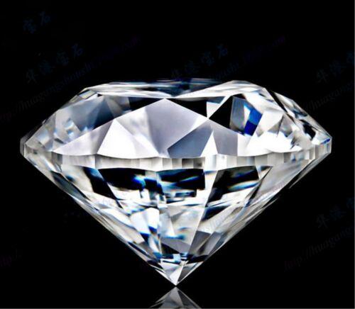 Natural clear Zircon Diamonds Round Cut 8*10 MM VVS Loose Gemstones//SHU
