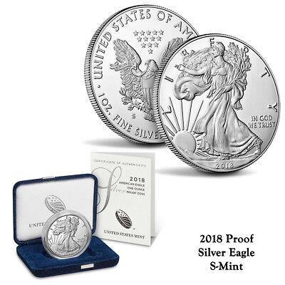 2019 S INNOVATION 4 COIN PROOF $1 SET w//BOX /& COA
