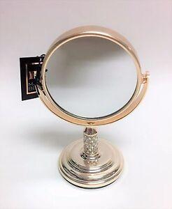 Détails sur MB Pâle Doré Rose , Cristaux, Petit Vanité, Miroir Salle de  Bain Plate-Forme 4X