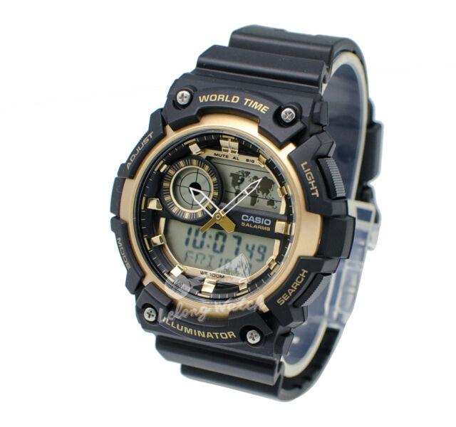 -Casio AEQ200W-9A Analog-Digital Watch Brand New & 100% Authentic