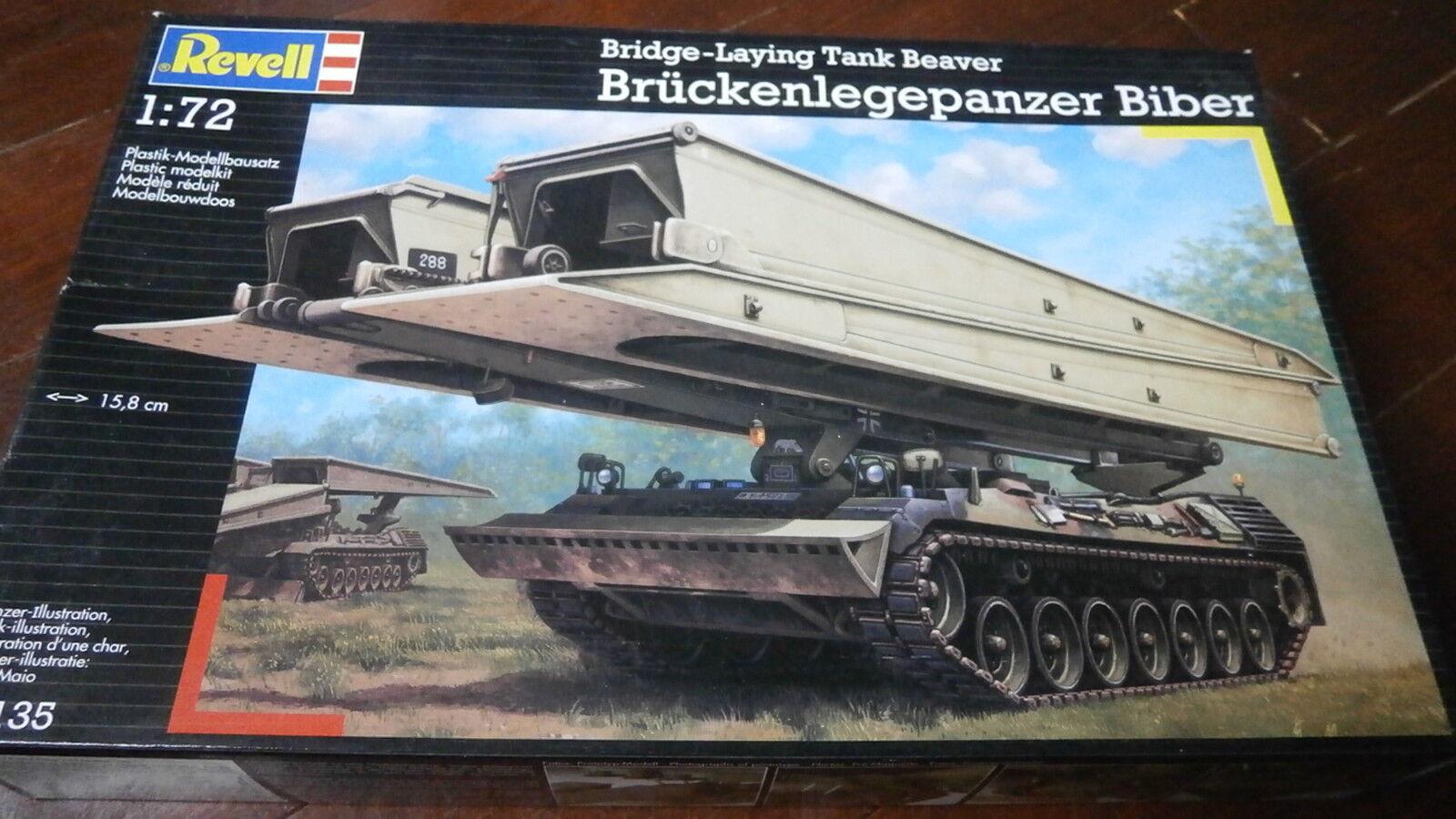 Revell 03135 Bridge - Laying Tank Beaver 1  72 skala.