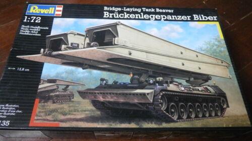 Revell 03135-Pont Ponte Tank Beaver échelle 1/72.
