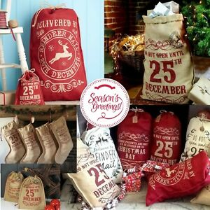 Christmas-Hessian-Sacks-Stockings-Vintage-Design-Large-Jute