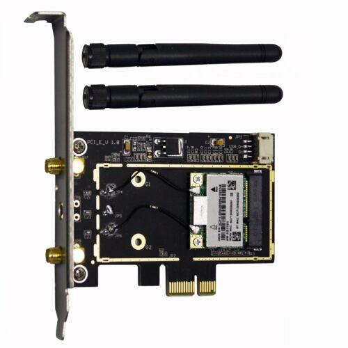 Atheros AR5B22 300M Wireless Wifi Bluetooth 4.0 PCI-E Card Desktop PC Adapter