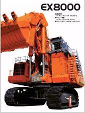Free Ship Amazing Mighty Huge Machine Japan Hitachi Ex8000 1/87 Excavator Model