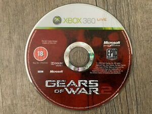 GEARS OF WAR 2 (Microsoft Xbox 360) Game Disc Only *TESTED WORKING*