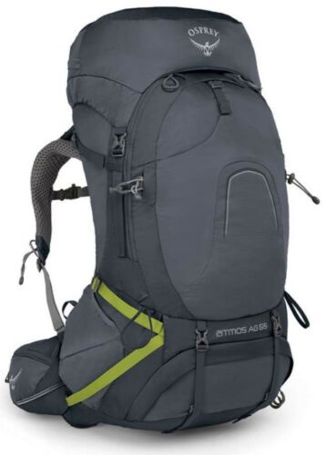 Osprey Atmos AG 65L Hiking Backpack Abyss Grey