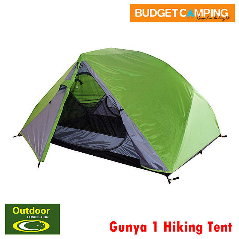 Outdoor Connection Gunya 1 Tent Hiking Tent with Groundsheet