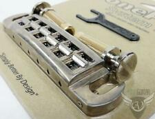 NEW PRS Molded Stop Tailpiece With Metric Studs NICKEL #ACC-4500