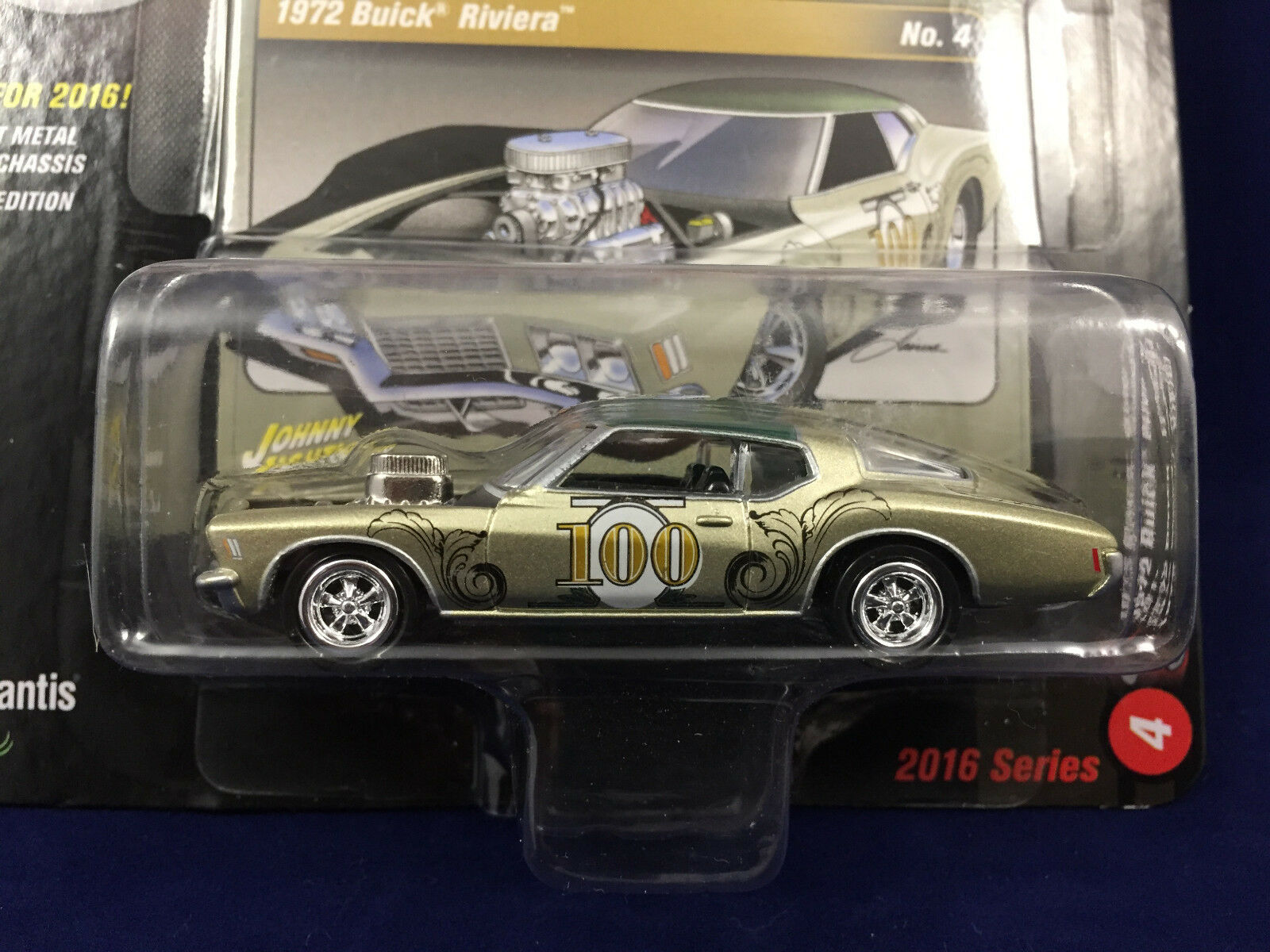 Johnny Lightning 1972 Buick Riviera 2016 Series Street Freaks The