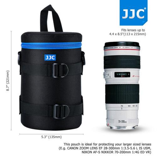 113x215mm Deluxe Custodia obiettivo Borsa Custodia per Canon 70-200mm 28-300mm Nikon 80-200mm