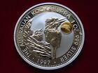 Australia. 1997 1oz - Silver Kookaburra.. Gold - Phoenix Privy. BU / SPECIMEN