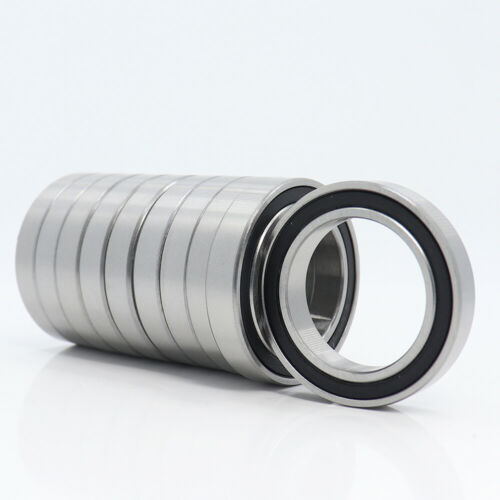10Pcs 6807RS Bearing 35x47x7mm Rubber Sealed 6807 RS 2RS RZ Ball Bearings ABEC-1