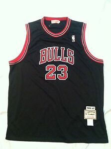1e2865c788d Pre-owned Michael Jordan 86-87 Chicago BULLS Jersey Size Men 60 | eBay