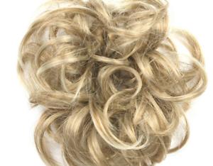 7-15CM-Chignon-Piece-Chouchou-Faux-Cheveux-A-La-Mode-A-PROPOS-DE-App-36g