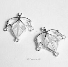 2x Sterling Silver Chandelier Earring Wire Connector | eBay