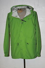 NWT LL Bean Stowaway Green Full Zip GoreTex Rain Jacket Coat Sz L