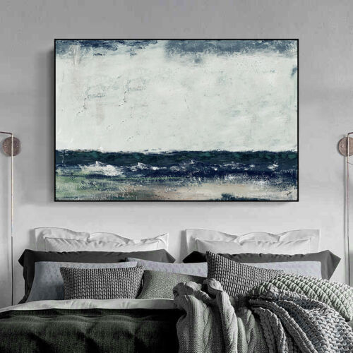 YA1545 Concise Abstract scenery oil painting Hand-painted Canvas Unframed