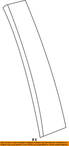 FORD OEM 11-16 Explorer Exterior-Rear-Applique Window Trim Left BB5Z78255A35AA