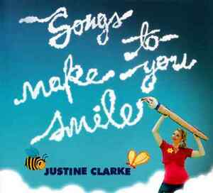 JUSTINE-CLARKE-Songs-To-Make-You-Smile-CD-BRAND-NEW-ABC-For-Kids