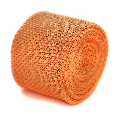 Unsicher Gehemmt Selbstbewusst Befangen Verlegen Pale Peach Skinny Knitted Tie By Frederick Thomas Ft2037 Um Jeden Preis