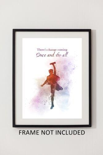 ART PRINT Newsies Quote Musical Theatre Broadway Inspirational Wall Art Gift