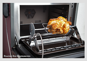 Quality-Use-Anywhere-Rotisserie-Grill-Kitchen-Oven-amp-BBQ-Barbecue-All-Year-Use