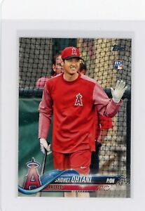 2018 Topps Series 2 SHOHEI OHTANI SP Photo Variation ANGELS  RC #700