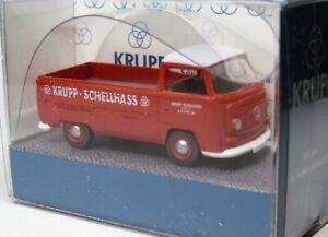 Wiking-1-87-VW-t2-camastro-OVP-Krupp-schellhass-Bremen