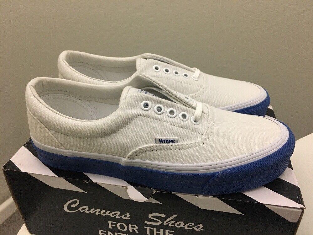 Vans Vault Wtaps OG Era LX White Blue Mens 9