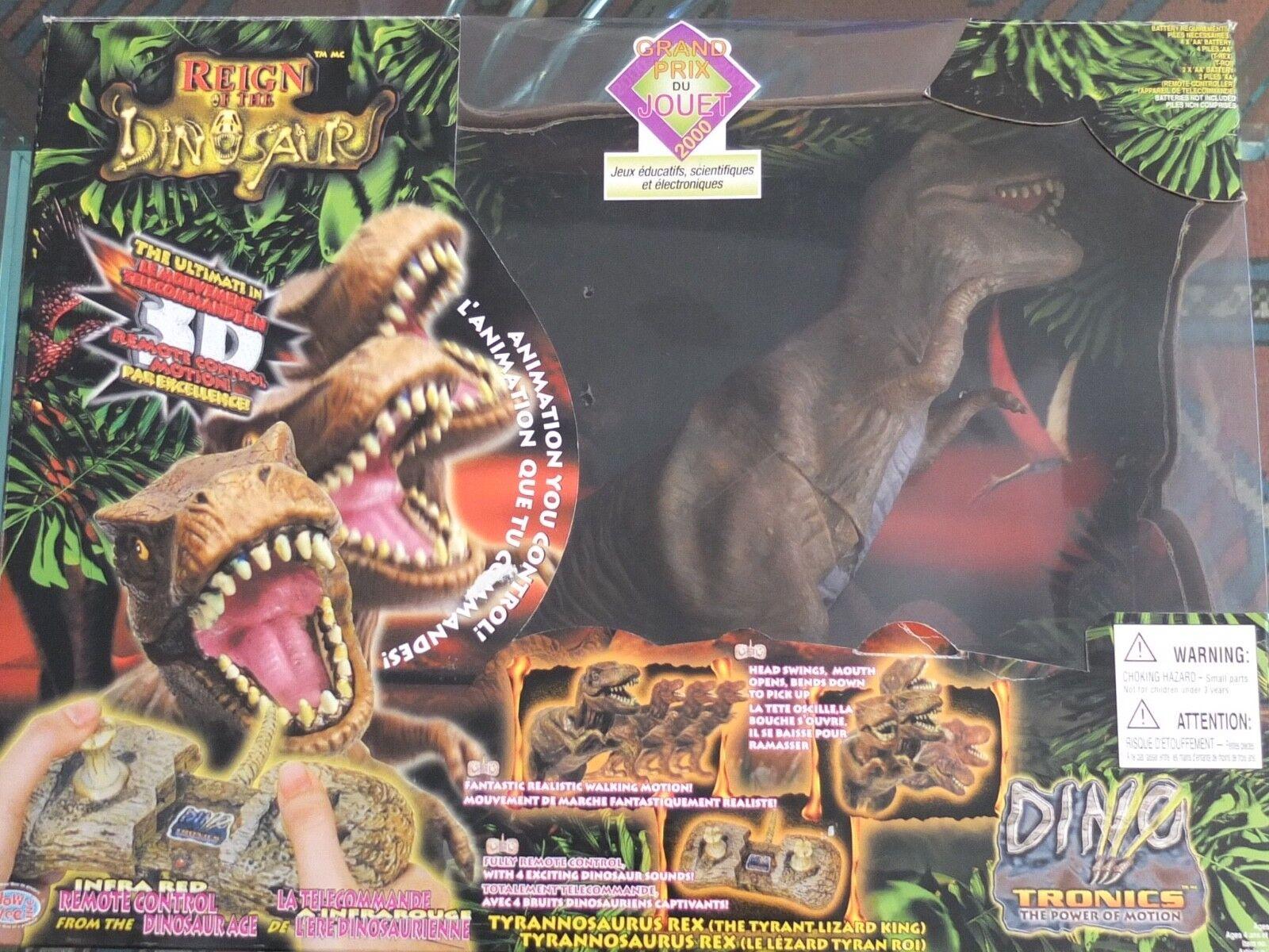 Reign Of  The Dinosaur Tyrannosaurus Rex DINO TRONICS  sport dello shopping online