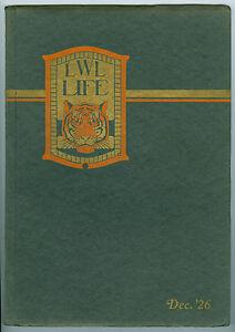 1926 Lick-Wilmerdin<wbr/>g-Lux LWL High School, San Francisco, Calif. Life Year Book