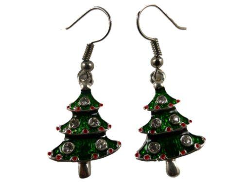 Ohrringe Weihnachten Weihnachts Tanne Baum Engel Gnom Schneemann Glocken Stern