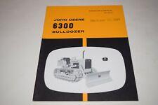 John Deere 6300 Bulldozer For Jd350 Operators Manual