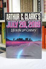 Arthur C. Clarke (1986) 'July 20, 2019', SIGNED first edition, 'Odyssey 2001'