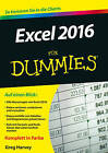 Excel 2016 Fur Dummies by Greg Harvey (Paperback, 2015)