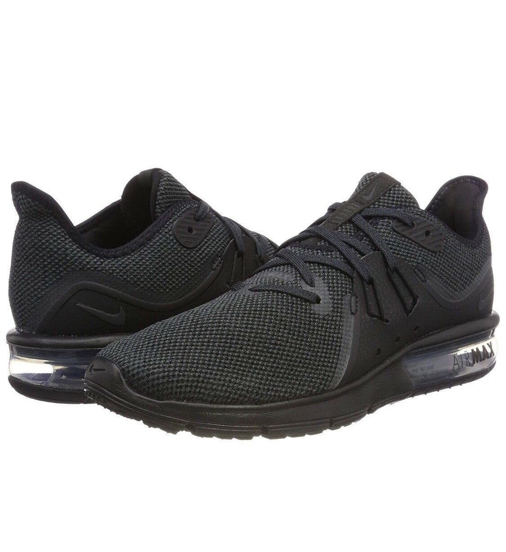 Nike air max successivi 3 uomini 921694-010 tratto nero a scarpe taglia 14
