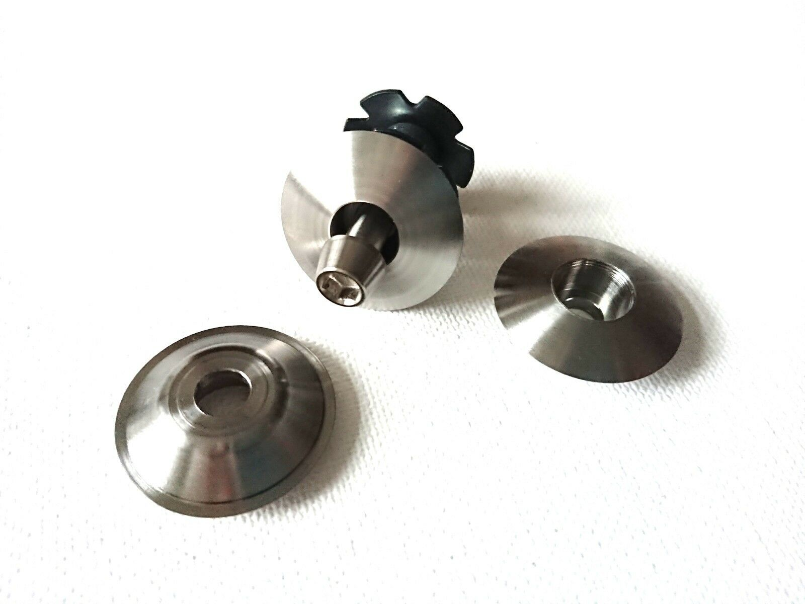 1Zoll 1  1inch A-head Kappe top cap Titan Steuersatz titanium headset king 1 zol