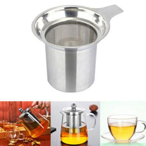 Stainless Steel Tea Infuser-Ball Mesh Loose Leaf Strainer Filter Tools zas TPN