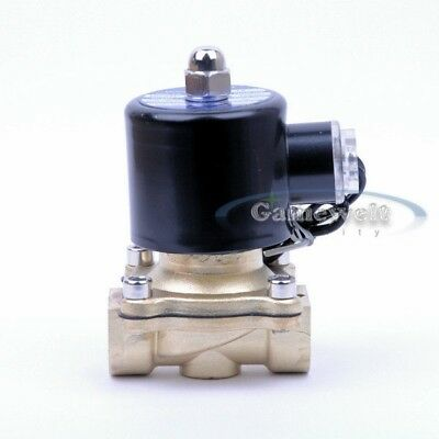"""DC12V 1//4 /""""BSP Elektromagnetventil Luft Wasser Diesel Normalerweise"""