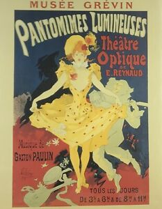 Jules-Cheret-Pantomimes-Lumineuses-Giclee-Art-Paper-Print-Poster-Reproduction
