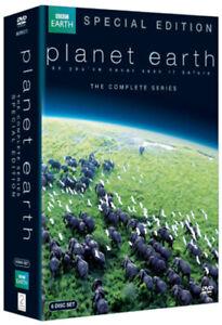 Planet-Earth-DVD-2010-David-Attenborough-cert-E-6-discs-NEW-Great-Value