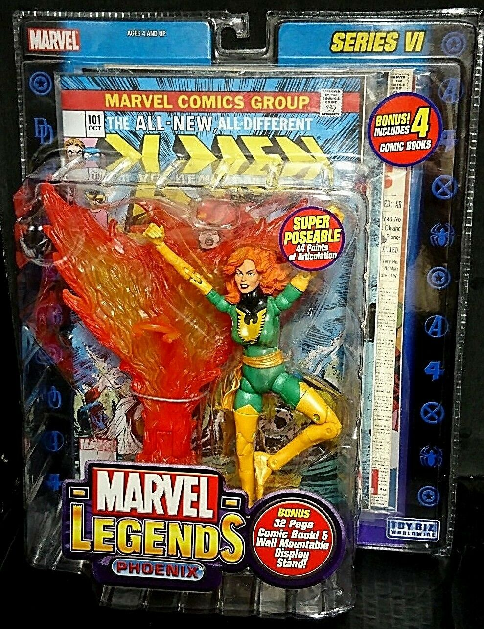 MARVEL Legends Series VI 6 Phoenix Nuovo  XMENJean Grigio 615cm 4 COMICS