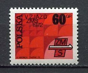 35845) Poland 1972 MNH Congress Of Socialist Youth Union