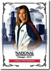 CARLY-PATTERSON-2013-LEAF-NATIONAL-EXCLUSIVE-COLLECTORS-PROMO-CARD