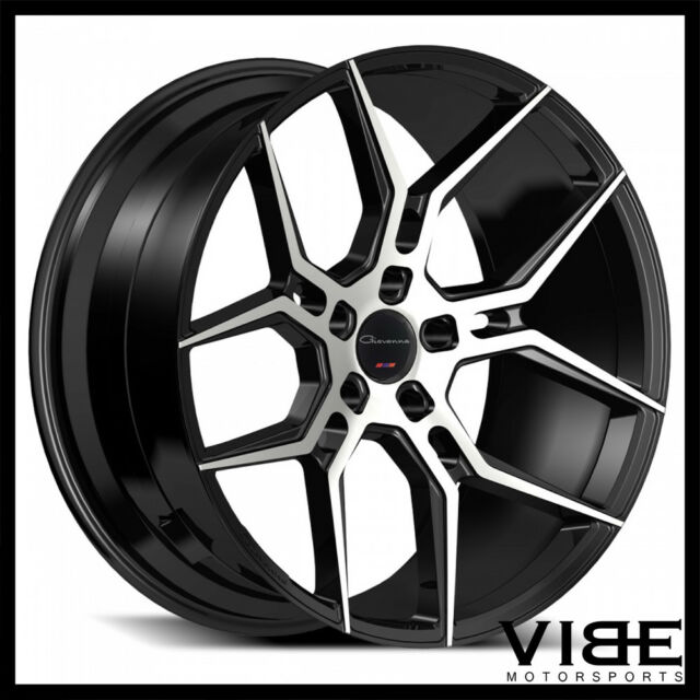 22 giovanna haleb machined black concave wheels rims fits dodge Dodge Charger Daytona 22 giovanna haleb machined black concave wheels rims fits dodge charger se srt8