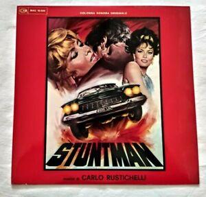 CARLO RUSTICHELLI LP STUNTMAN 33 GIRI VINYL 1968 ITALY CAM MAG 10.020 NM/NM
